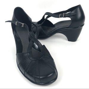 Dansko Regina Mary Jane Shoes Black Leather shoes